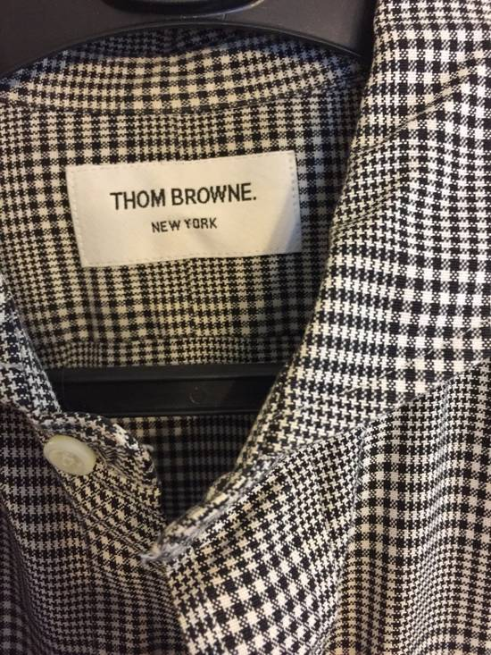 Thom Browne Cotton Checkered Shirt Size US L / EU 52-54 / 3 - 1