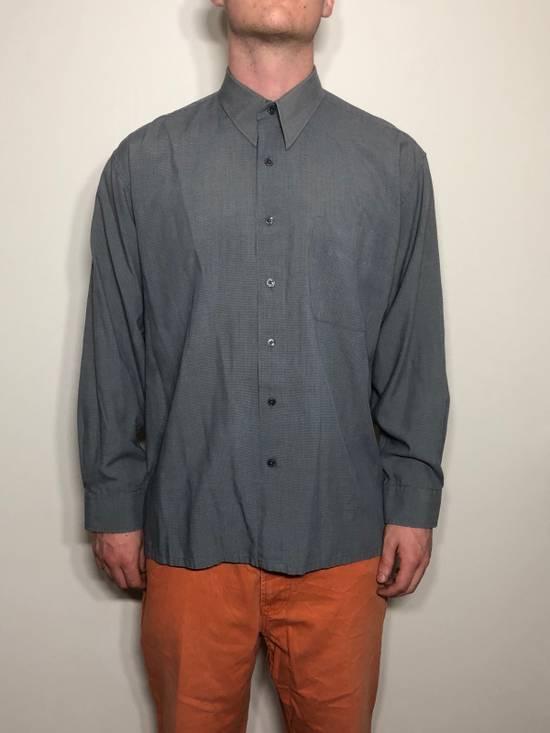 Balmain Grey Pattern Button Down Size US L / EU 52-54 / 3