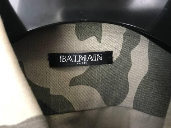 Balmain Military Camo Jacket . Size US M / EU 48-50 / 2 - 3