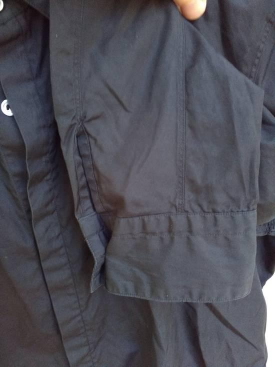 Julius Black Hidden Placket Shirt Size US L / EU 52-54 / 3 - 2