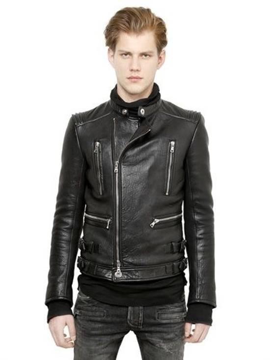 Balmain Lambakin Leather Jacket Size US M / EU 48-50 / 2