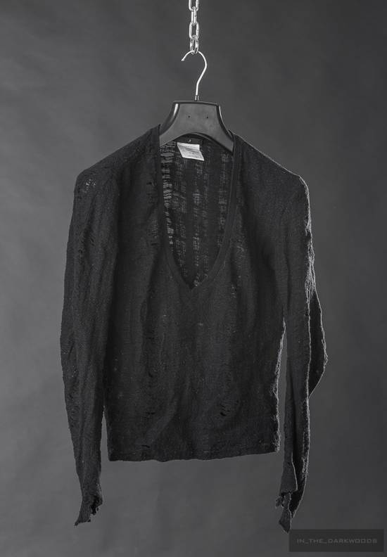 Julius 2005 AW frayed wool knit top Size US S / EU 44-46 / 1