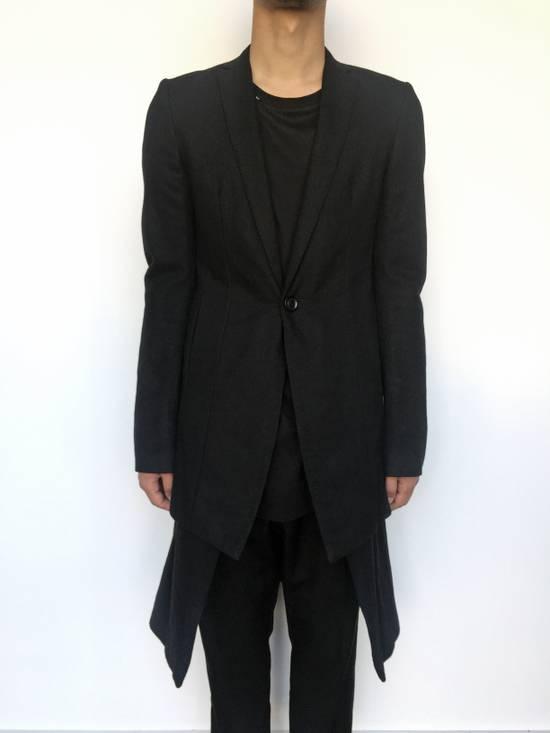 Julius Angora Double Layer Skirted Blazer Size 46R - 1