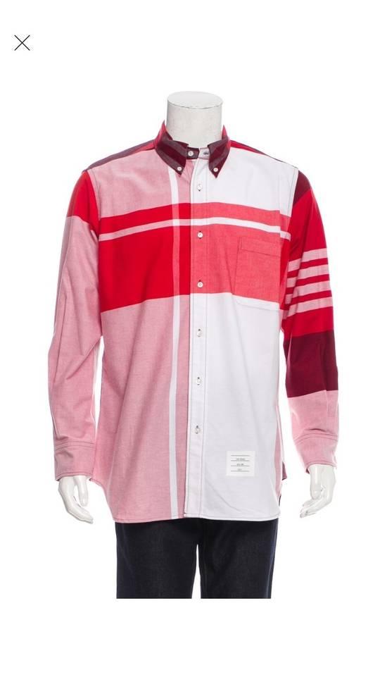 Thom Browne Thom Browne Red Check Button Up XXL Size US XXL / EU 58 / 5
