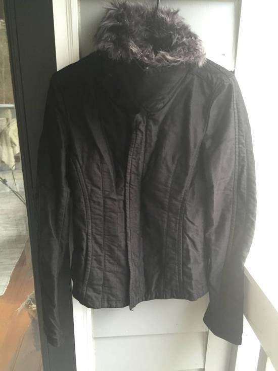 Julius JULIUS Cotton Moleskine Fur Collar Jacket Size US S / EU 44-46 / 1 - 2
