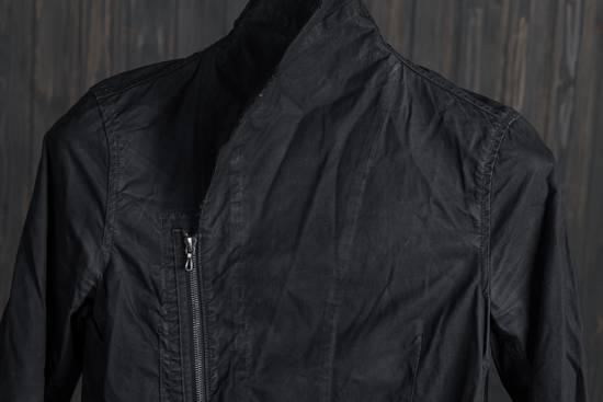 Julius high neck asymmetric zip waxed denim jacket Size US S / EU 44-46 / 1 - 11