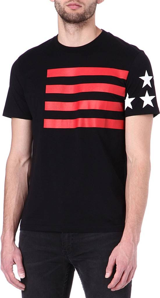 Givenchy Stars and Stripes T-shirt Size US S / EU 44-46 / 1 - 1