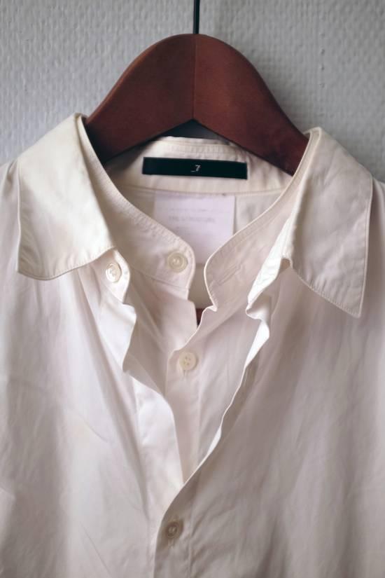 Julius Double-layer/collar White Shirt Size US S / EU 44-46 / 1 - 1