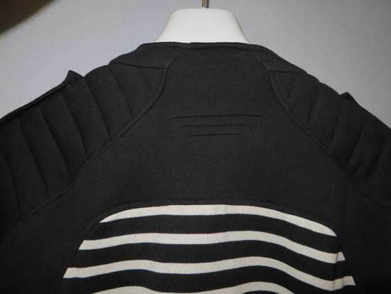 Balmain Stripped cotton biker jacket Size US XXL / EU 58 / 5 - 8