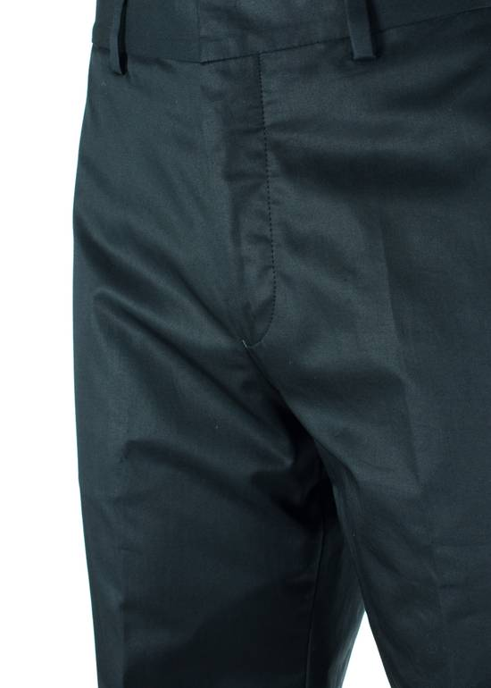 Givenchy Givenchy Men's Black 100% Cotton Trousers Size US 31 - 1