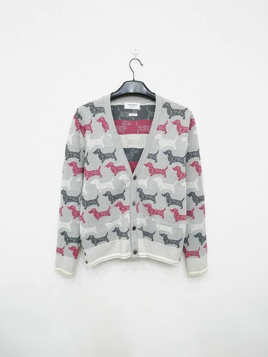 Thom Browne COTTON DOG CARDIGAN Size US L / EU 52-54 / 3