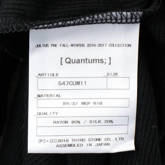 Julius 7 Black Silk Blend Long Ribbed Tank Top T-Shirt Size 4/L Size US L / EU 52-54 / 3 - 6