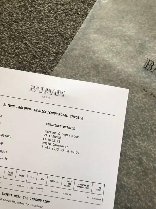 Balmain SS18 Logo Print T-Shirt Size US S / EU 44-46 / 1 - 5