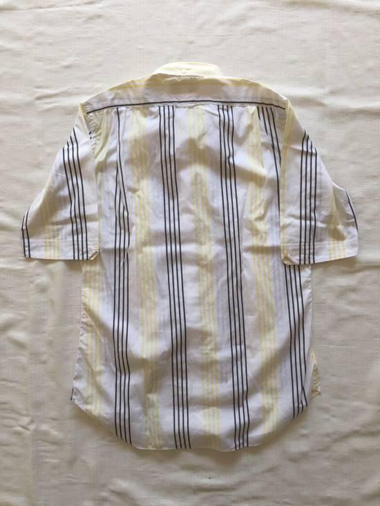 Thom Browne Short Sleeve Striped Shirt Size US L / EU 52-54 / 3 - 1