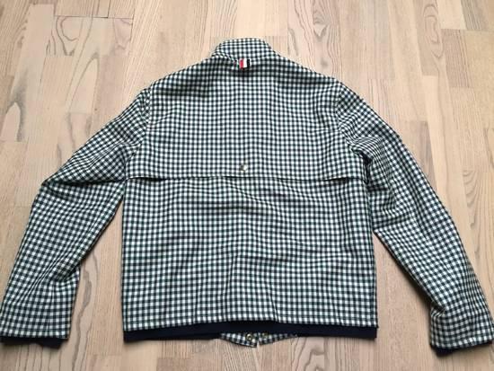 Thom Browne Gingham check wool/cashmere Harrington Jacket Size US S / EU 44-46 / 1 - 8