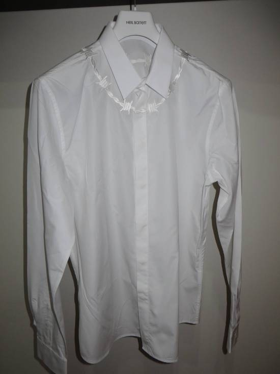 Givenchy Barbed wire embroidered shirt Size US S / EU 44-46 / 1