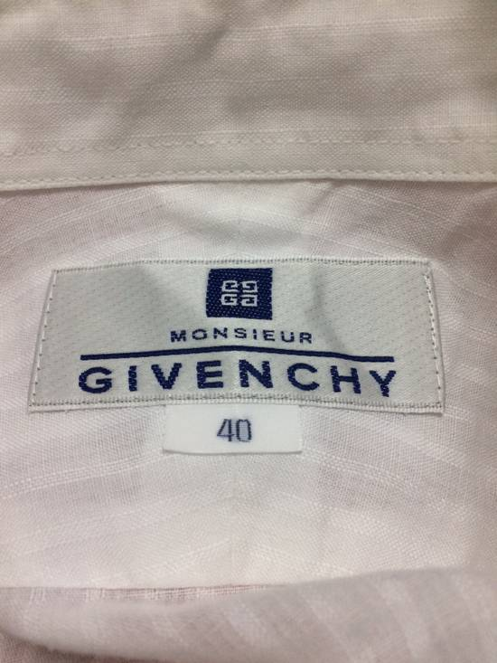Givenchy Button Up S/S Monsieur Givenchy White Large Made in Japan. Size US L / EU 52-54 / 3 - 5