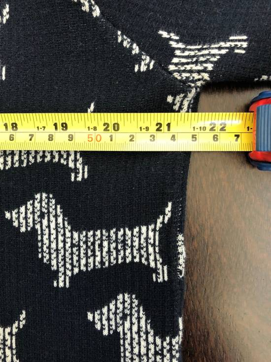 Thom Browne Dog Print Sweater Size US L / EU 52-54 / 3 - 8