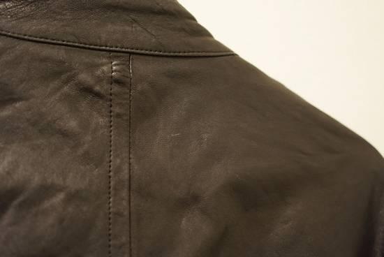 Julius Lamb Leather Jacket - s/s 11 Chaos Ontological Anarchism Size US S / EU 44-46 / 1 - 9