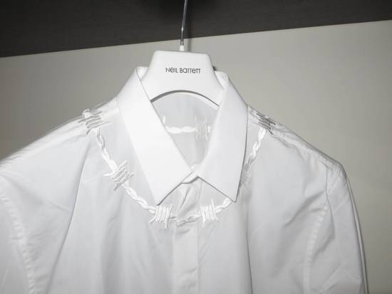 Givenchy Barbed wire embroidered shirt Size US S / EU 44-46 / 1 - 1