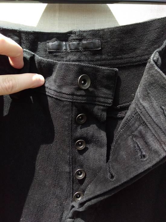 Julius Black Knit Denim Jeans f/w12 Size US 30 / EU 46 - 3