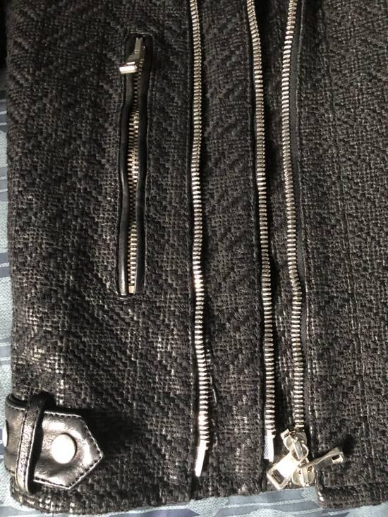 Balmain Balmain Paris Handwoven Short-sleeve Leather Jacket Size US S / EU 44-46 / 1 - 4