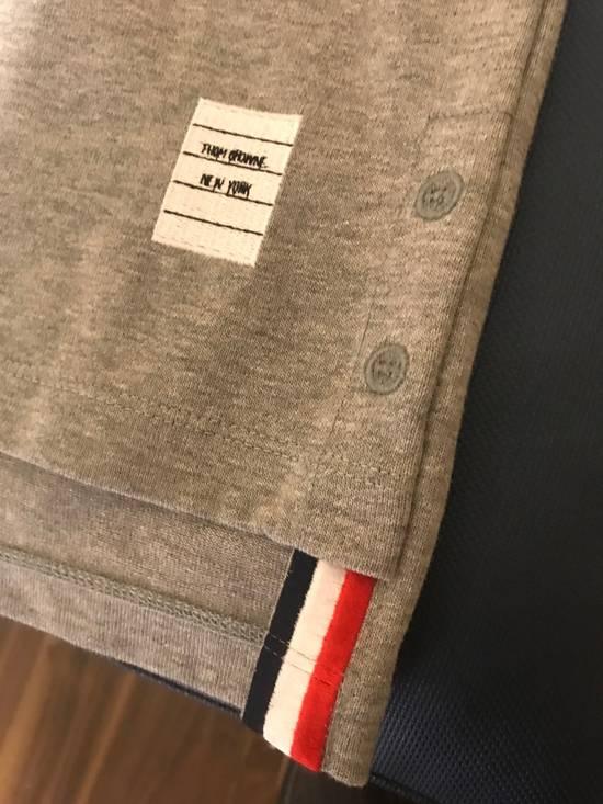 Thom Browne XS & XXL Mock Polo in Grey Size US XXL / EU 58 / 5 - 2