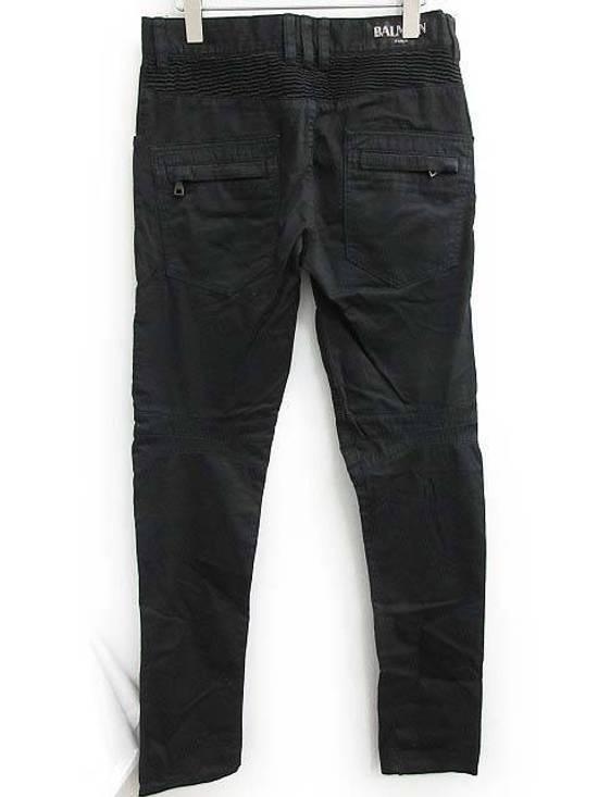 Balmain Balmain Twill Cotton Biker Denim Size US 29 - 1