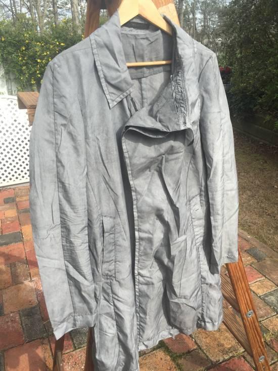 Julius SS14 Silk/Nylon Dusty Grey Coat Size US M / EU 48-50 / 2 - 5