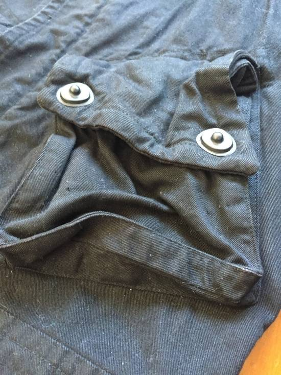 Julius AW08 Gas mask cargo pocket denim jacket Size US S / EU 44-46 / 1 - 11