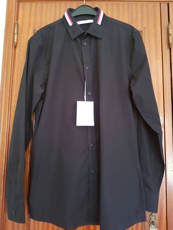 Givenchy Givenchy Givenchy Slim Fit Shirt With Bands and Embroidered Stars On Collar sz 42 Size US L / EU 52-54 / 3 - 1