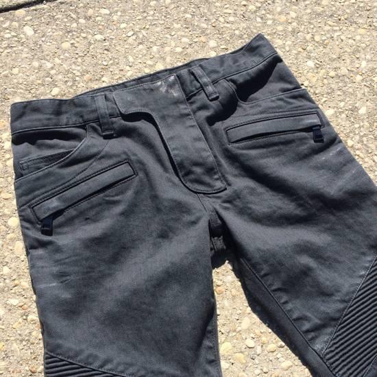 Balmain Gray Biker Jeans Size US 27 - 4