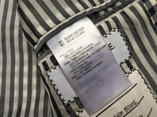 Thom Browne Gingham check wool/cashmere Harrington Jacket Size US S / EU 44-46 / 1 - 4