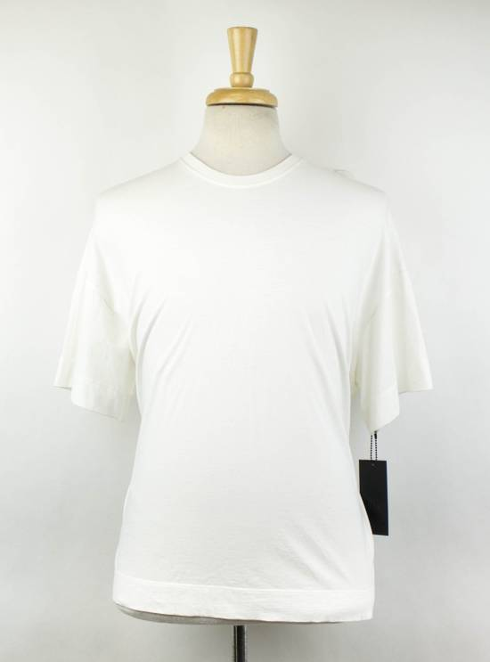 Julius White Cotton Short Sleeve Crewneck T-Shirt Size 2/S Size US S / EU 44-46 / 1
