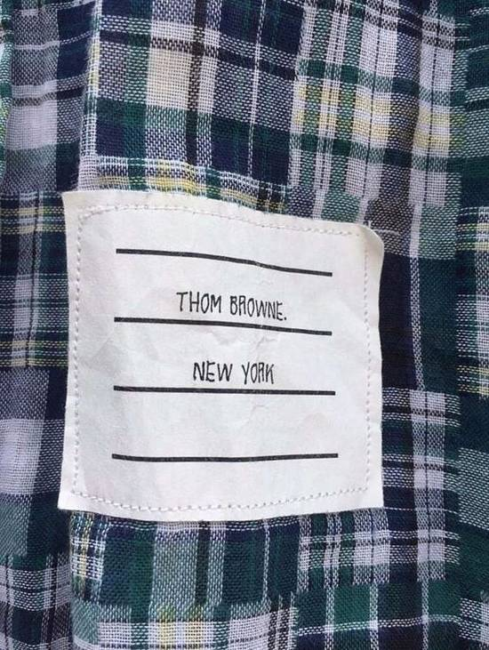 Thom Browne LAST DROP BEFORE DELETED ! Thom Browne Patchwork Madras Shirt Button Ups Size US M / EU 48-50 / 2 - 1