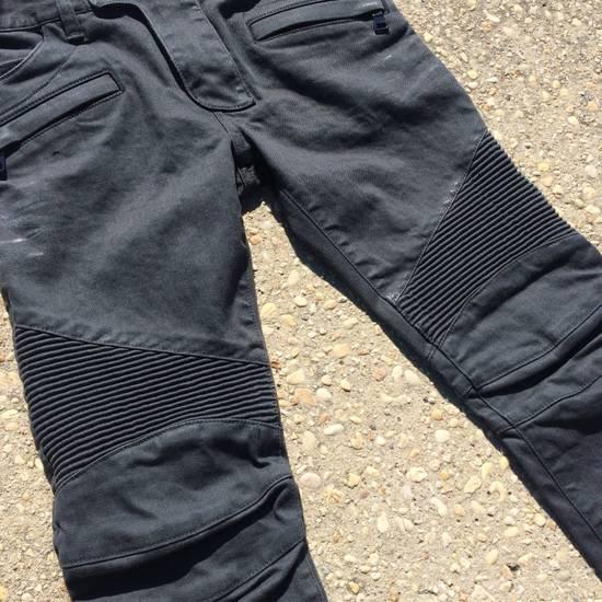 Balmain Gray Biker Jeans Size US 27 - 5