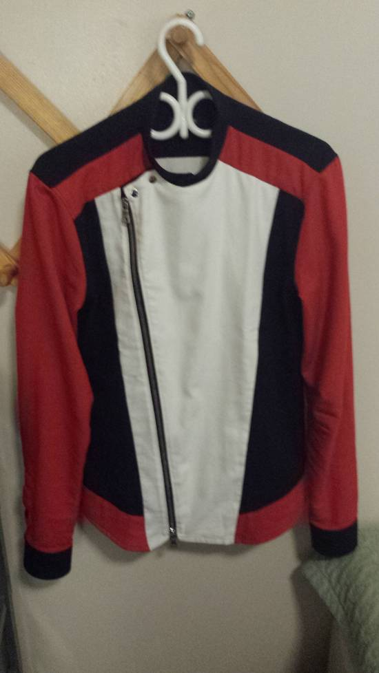Balmain ZIP UP JAPANESE COTTON MOTO ST Size US M / EU 48-50 / 2 - 1