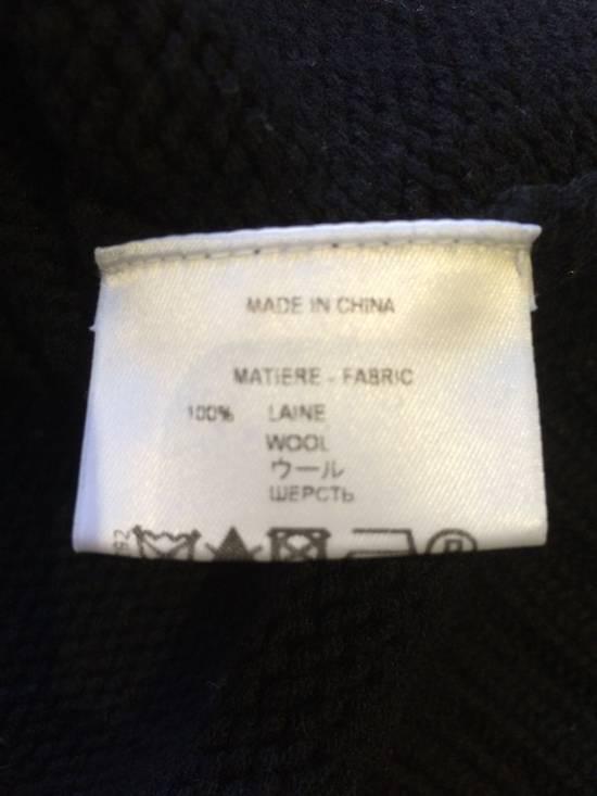 Givenchy FW09 Oversized Black Sweater Anchor Intarsia Size US XS / EU 42 / 0 - 6