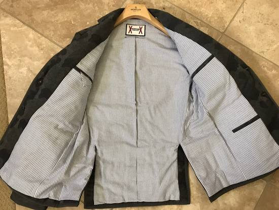 Thom Browne Moncler Gamme Bleu Camo Cashmere Blazer Size 38R - 1