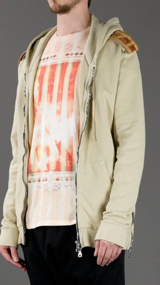 Balmain Balmain Beige Military Zipper Hoodie Size US M / EU 48-50 / 2 - 8