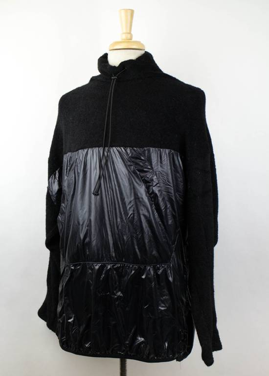 Julius 7 Black Wool Blend W/ Drawstring Pullover Sweater Size 3/M Size US M / EU 48-50 / 2 - 1