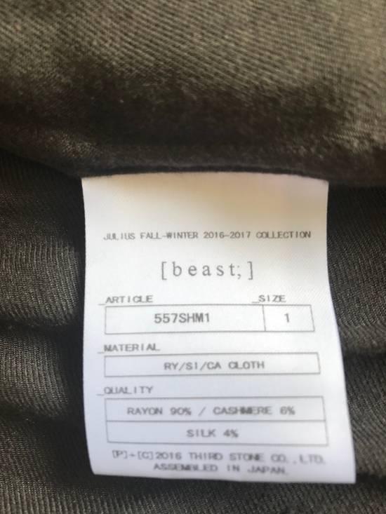 Julius AW16 charcoal with angle edge at bottom shirt Size US S / EU 44-46 / 1 - 9