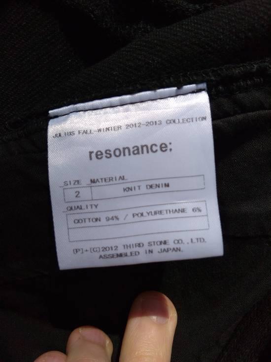 Julius Black Knit Denim Jeans f/w12 Size US 30 / EU 46 - 5