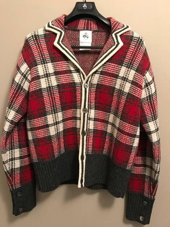 Thom Browne Wool Plaid Cardigan Jacket Size BB3 VERY RARE Size US L / EU 52-54 / 3 - 3