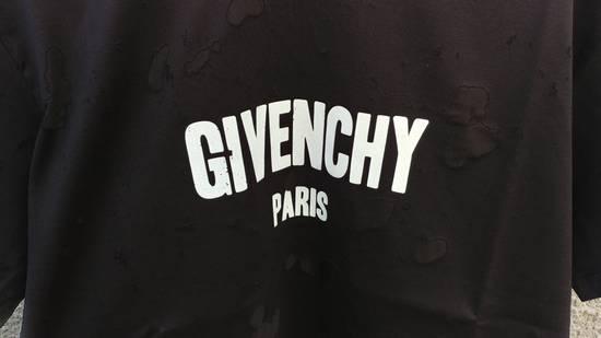 Givenchy Givenchy Black Destroyed Distressed Logo Oversized Shark T-shirt size M (XL) Size US M / EU 48-50 / 2 - 8