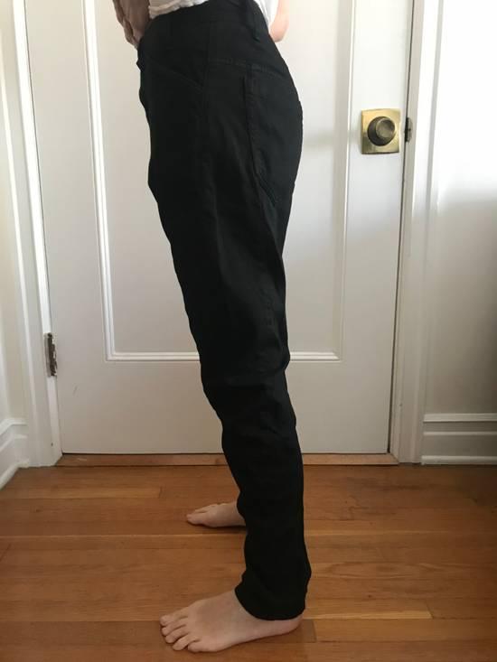 Julius BRAND NEW JULIUS APCLPS LOW CROTCH LIGHT DENIM BLACK PANTS Size US 29 - 1