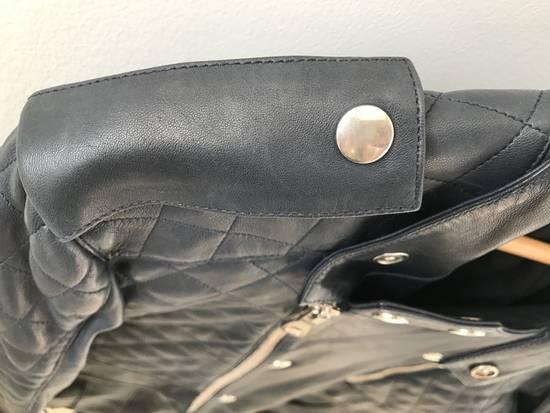 Balmain Quilted Leather Biker Jacket Size US M / EU 48-50 / 2 - 5