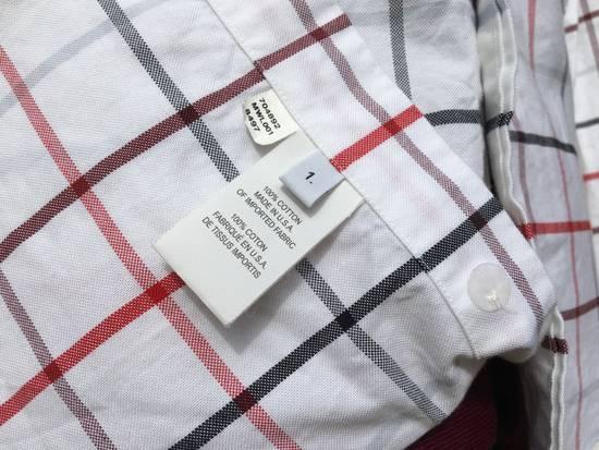 Thom Browne Red/Blue Windowpane Oxford Shirt L/S Size US S / EU 44-46 / 1 - 7