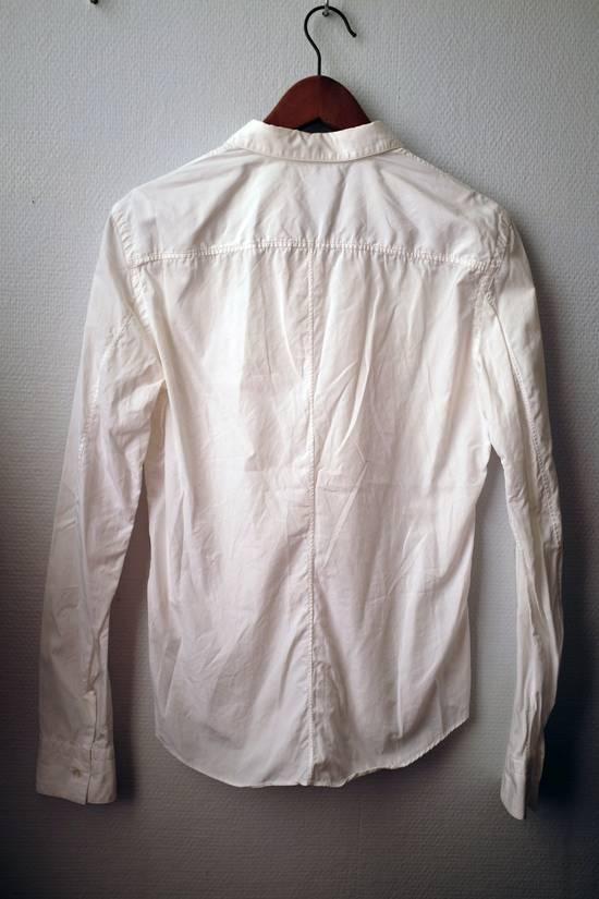 Julius Double-layer/collar White Shirt Size US S / EU 44-46 / 1 - 3