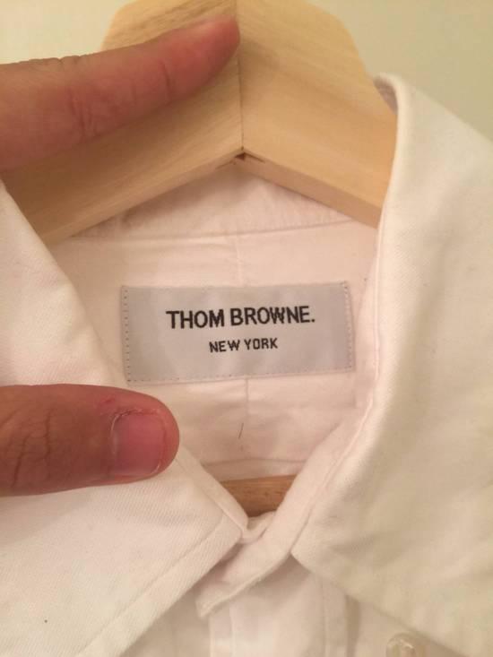 Thom Browne white shirt Size US L / EU 52-54 / 3 - 1